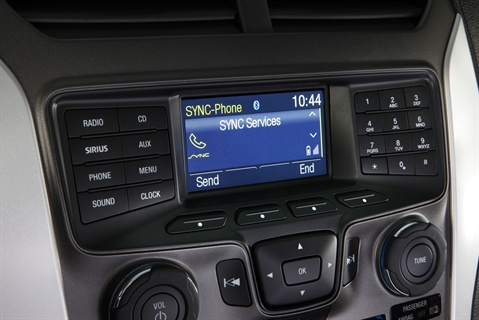 Ford's SYNC system will be available across its entire North American lineup during the next three years.