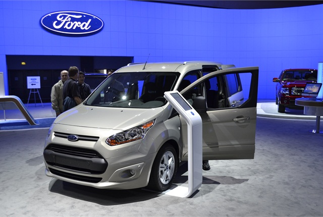 Ford also brought the short wheelbase version of the Transit Connect Wagon to the LA Auto Show.