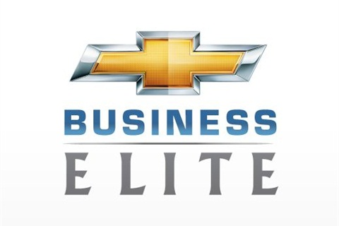GM's new Business Elite logo for its Chevrolet brand.