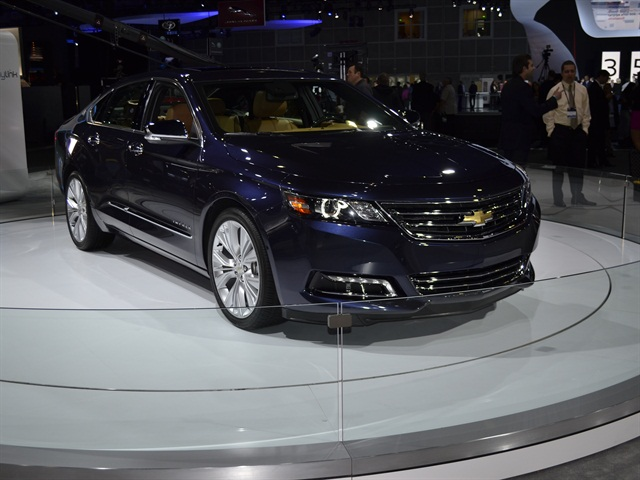GM had its 2014-MY Chevrolet Impala at the LA Auto Show.
