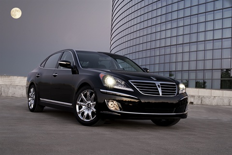 The 2011-MY Hyundai Equus.