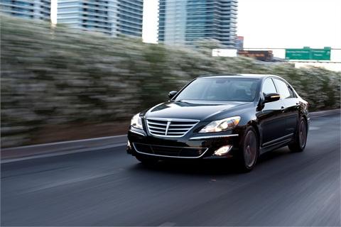 the 2013-MY Hyundai Genesis.