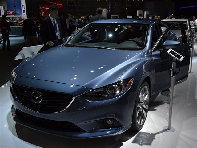 Mazda Details 2014 Mazda6 Fuel Economy Pricing and Features