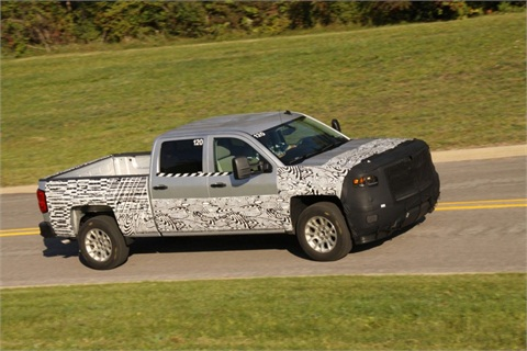 The new Silverado will start production in 2013.