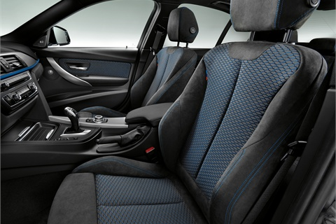 Front seats in the M Sport Package.