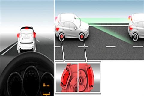 Mazda's Smart City Brake Support