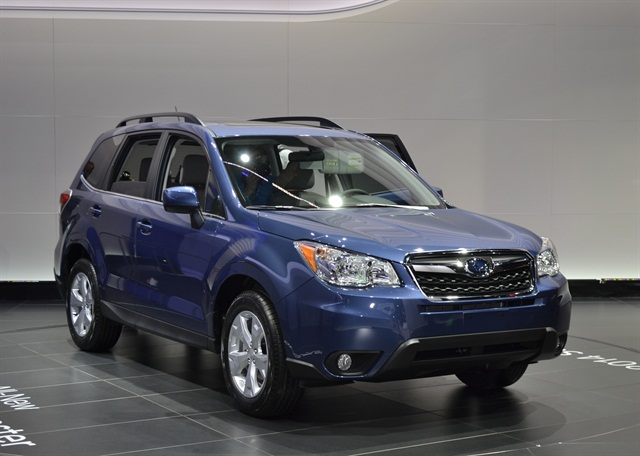 The Forester comes in three trim levels, Premium, Limited, and Touring.