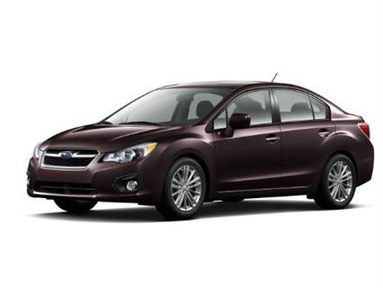 MY-2012 Subaru Impreza.
