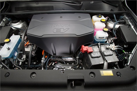 Under the hood of the RAV4 EV