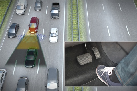 Traffic Jam Assist is among the technologies Ford is researching and developing.
