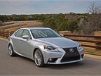 Lexus Details MSRP and Features for All-New 2014 IS Sedan