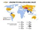 GM Sells 3M Chevrolet Cruze Cars Globally