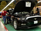 First 2015 Mustang Rolls Off Production Line