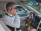 Drivers More Likely to Use Phone at Red Light