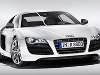 Audi R8 V-10 Is First All-LED Car