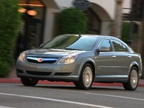 2007 Saturn Aura Certified as Qualified Hybrid Vehicle