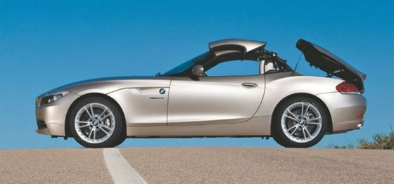 2009 bmw z4 gets folding hardtop top news vehicle research top news automotive fleet. Black Bedroom Furniture Sets. Home Design Ideas