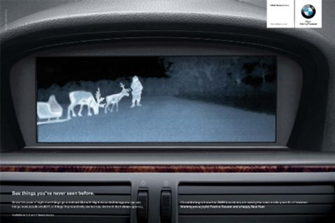 Go To The Dark Side With Bmw Night Vision News