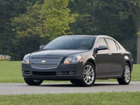 Chevrolet Malibu LTZ Offered with Four-Cylinder/Six-Speed Automatic Powertrain