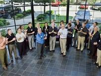 Chrysler Presents Award to Ed Bobit at BBM Headquarters