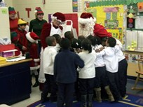 Donlen Brings Christmas to the Jenner Academy