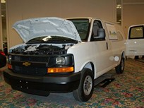 GM Showcases CNG Van at Green Fleet Conference
