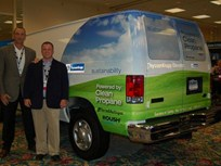 ThyssenKrupp Elevator Unveils Propane Van at Green Fleet Conference