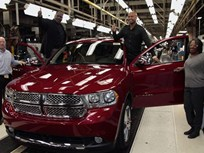 2011 Dodge Durango Production Begins in Detroit