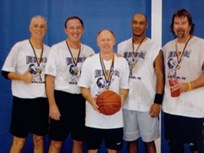 CEI Manager Goes for Senior Basketball Gold