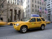 Hybrid Taxis Make Chicago History