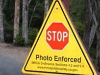 California: Stop Sign Cameras Installed on Canyon Roads