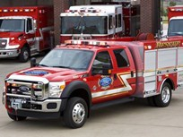 2011 Ford Super Duty Fire Truck Aids Families Of Fallen Los Angeles Firefighters