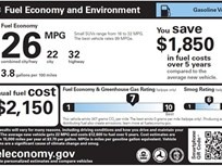 EPA and DOT Unveil New Fuel Economy Labels