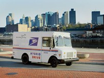 Postal Service Converts Mail-Delivery Van to Hybrid Technology