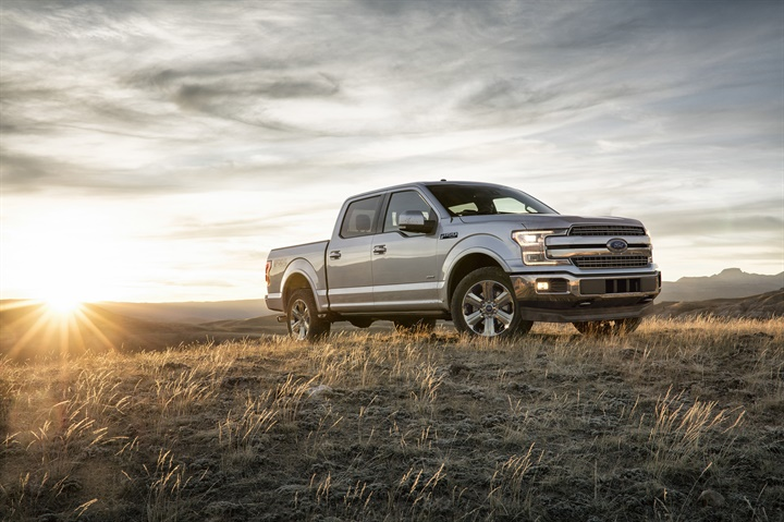 Photo of the 2018 F-150 courtesy of Ford.