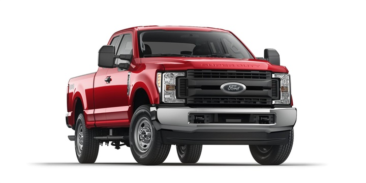 Photo of 2017 F-250 XL courtesy of Ford.