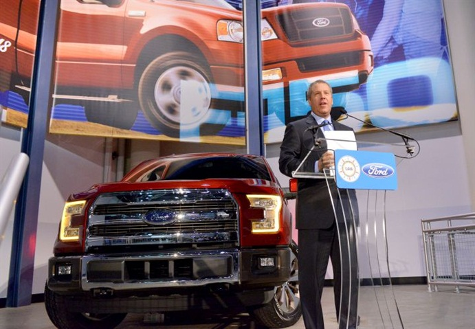 Joe Hinrichs, Ford s president of the Americas, announced that Ford is
