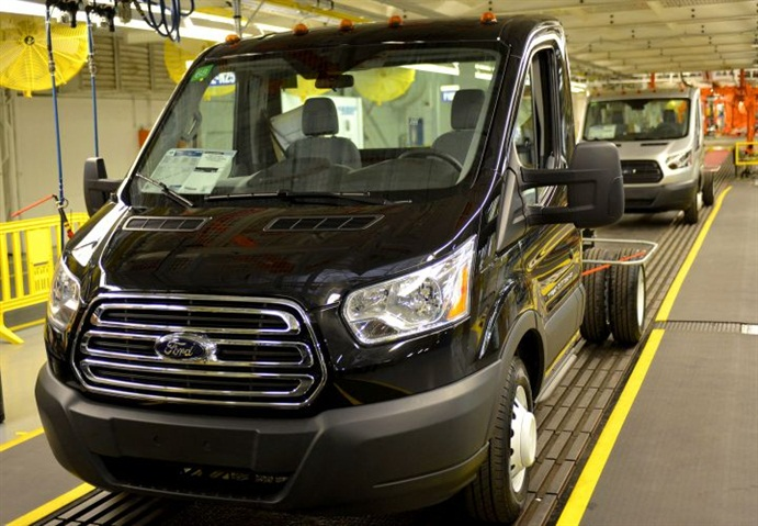 Ford Transit Cutaway >> Gallery: Photo of Transit cutaway courtesy of Ford. - Ford ...