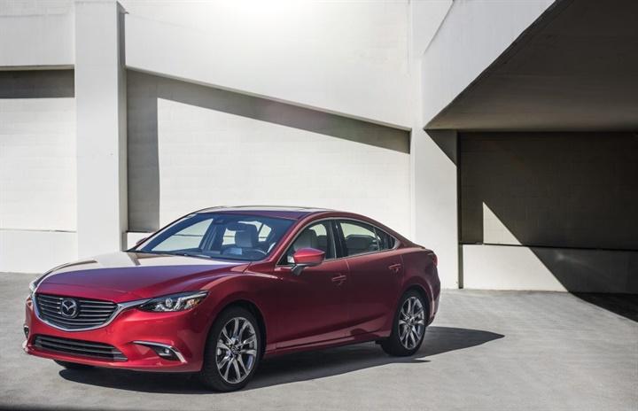 Photo of 2017.5 Mazda6 courtesy of Mazda.