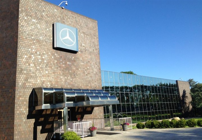 Gallery photo of current headquarters in montvale n j for Mercedes benz atlanta headquarters