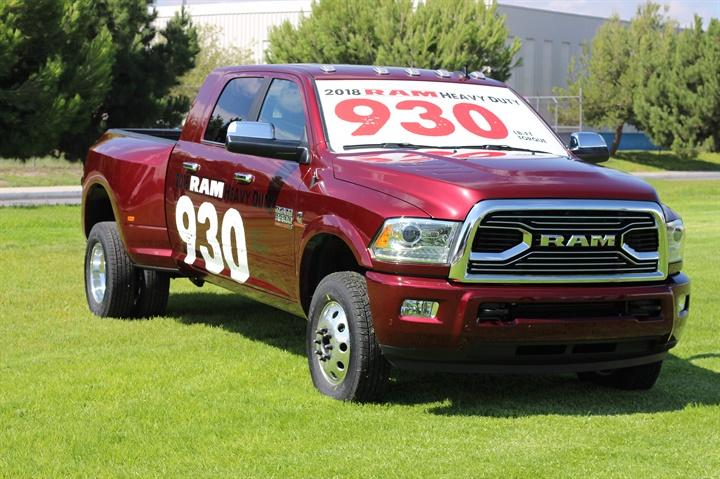 Photo of 2018 Ram 3500 courtesy of FCA.