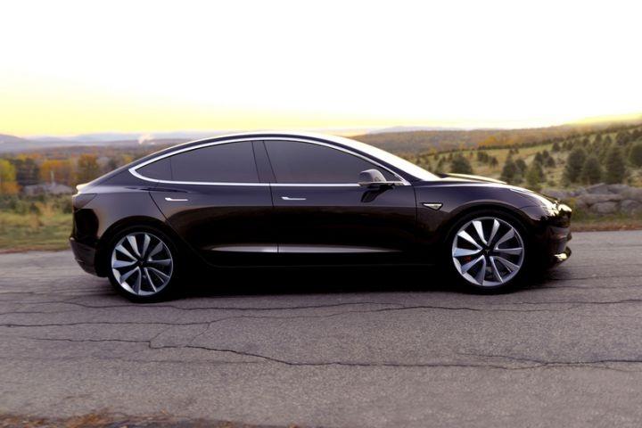 Gallery Photo Of Model 3 Courtesy Of Tesla Motors