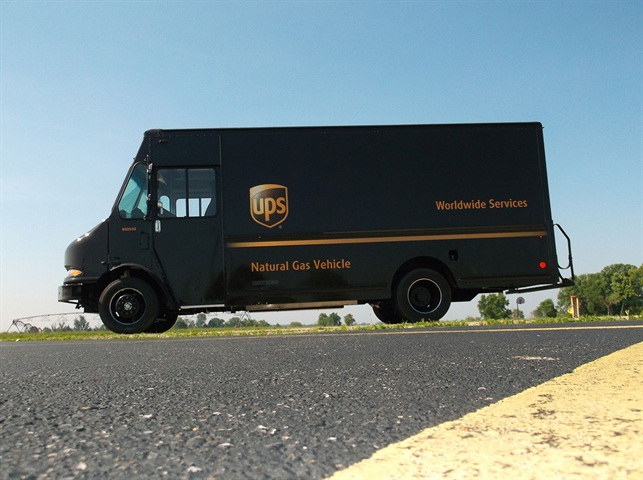Ups Natural Gas Fleet