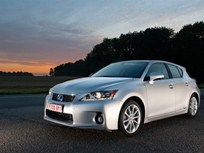 Lexus CT 200h Gets IIHS Top Safety Pick Award
