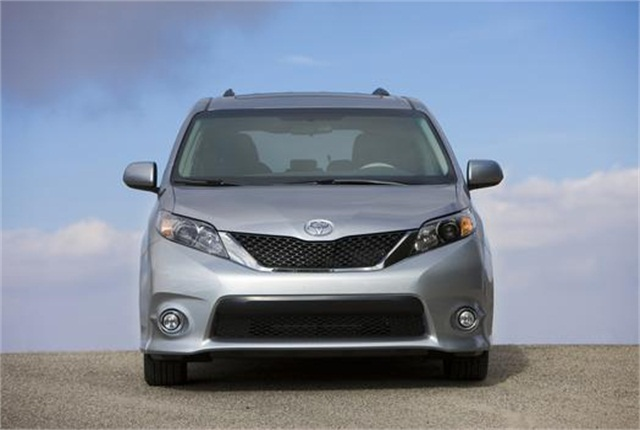 ElDorado had made its modifications to Toyota Sienna minivans. Photo: Toyota.