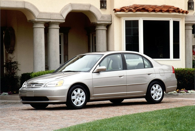 Photo of 2002 Honda Civic courtesy of Honda.