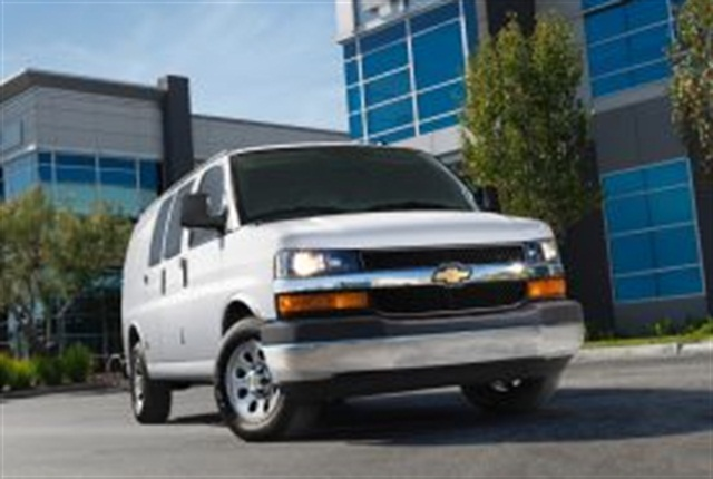 """Chevy Express/GMC Savana G1500 and G3500 vans were among 'top-value"""" GM vehicles, according to Vincentric, an automotive data analysis firm."""