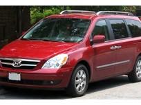 Hyundai Recalls Entourage Minivans for Hood Latch