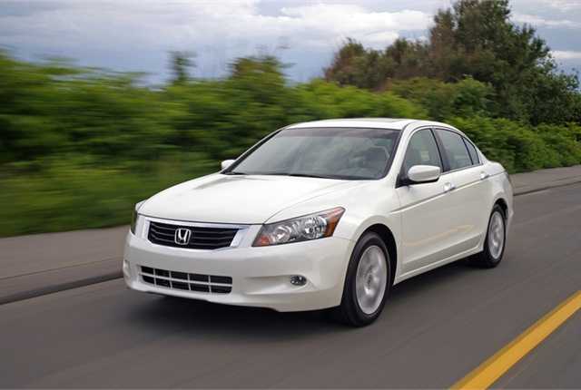 Photo of Honda Accord courtesy of Honda.