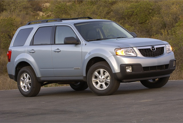Photo of 2008 Mazda Tribute Hybrid courtesy of Mazda.